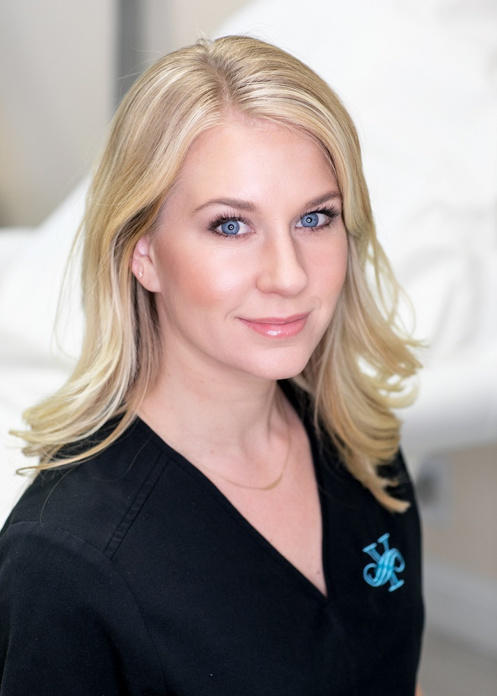 Anna, a member of Dr. Yegiyants' staff at her Santa Barbara plastic surgery office